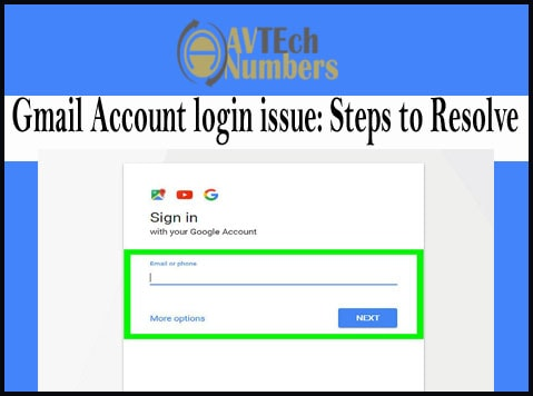 Gmail Account login issue: Steps to Resolve