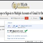 Easy Steps to Sign-in to Multiple Accounts of Gmail At One Time