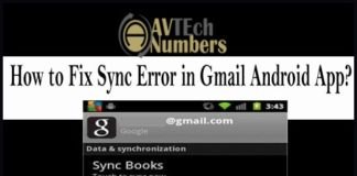 How to Fix Sync Error in Gmail Android App?