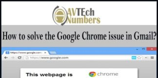 How to solve the Google Chrome issue in Gmail?