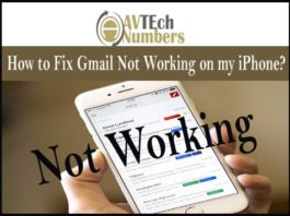 How to Fix Gmail Not Working on my iPhone?
