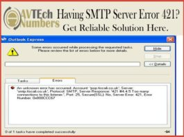 Having SMTP Server Error 421? Get Reliable Solution Here.