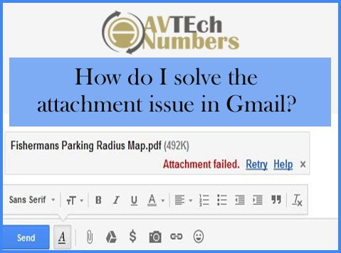 How do I solve the attachment issue in Gmail?