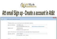 Att email Sign up - Create a account in At&t