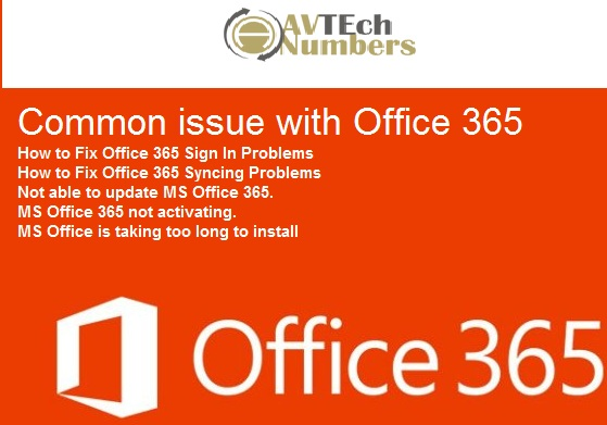 1 833 410 5666 Fix Microsoft Office 365 not working in Windows 10
