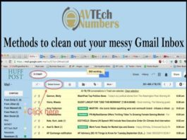 Methods to clean out your messy Gmail Inbox