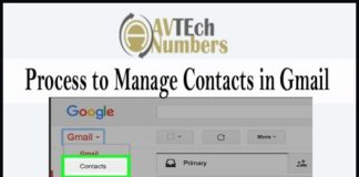 Process to Manage Contacts in Gmail: Get here a complete view