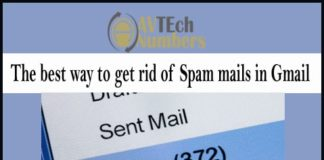 The best way to get rid of Spam mails in Gmail