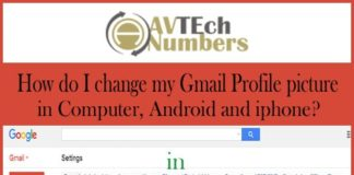 How do I change my Gmail Profile picture in Computer, Android and iphone?
