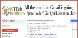 All the email, in Gmail is going in Spam Folder? Get Quick Solution Here