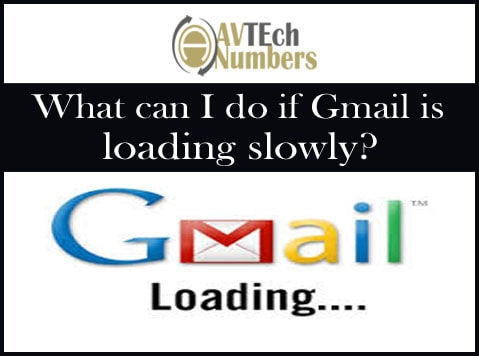 What can I do if Gmail is loading slowly?