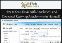 How to Send Email with Attachment and Download Receiving Attachments in Hotmail?